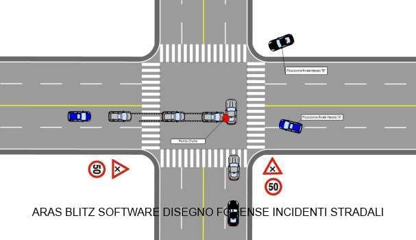 Programma disegno incidente stradale for Software per planimetrie